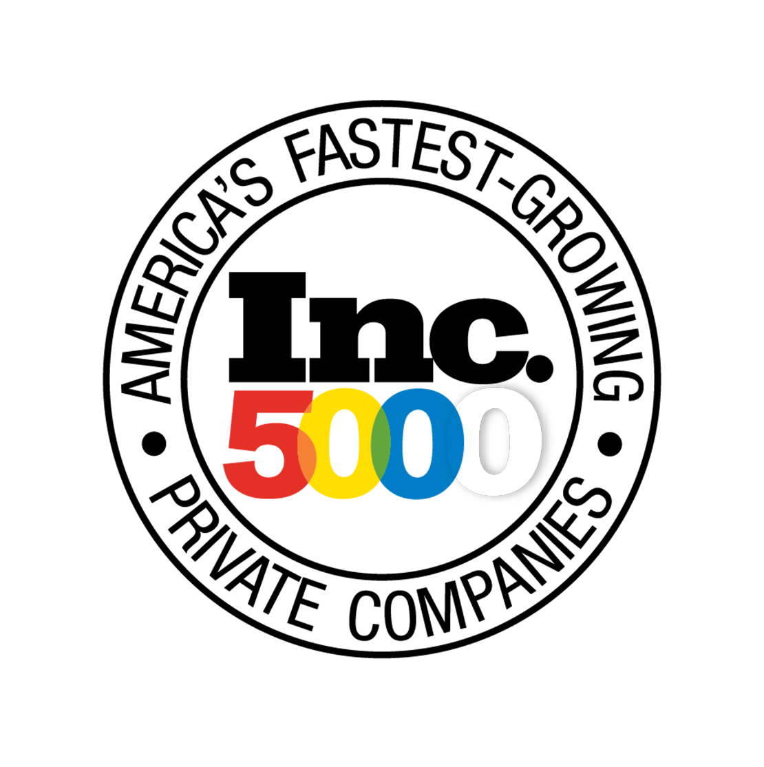 Inc. 5000 Fastest Growing Companies in America in Telecom, Education & HealthCare
